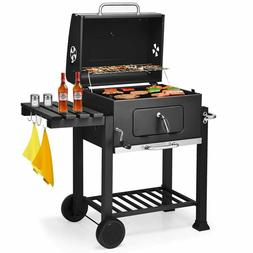HEAVY BBQ Grill Smoker Camping Charcoal Outdoor Wood Barbecu