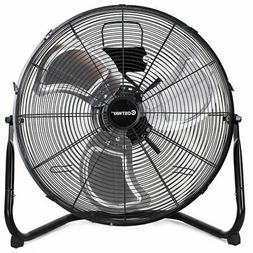 "Costway High Velocity 20"" Floor Fan Commercial Industrial Gr"