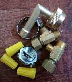 Ice Maker dish washer BRASS TEE  dish washer reduction conne