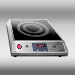 Induction Cooktop with Stainless Steel Cabinet