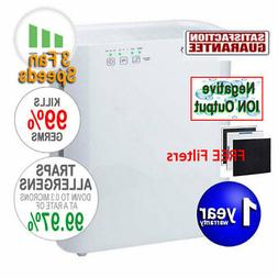 Ionmax ION420 BREEZE Air Purifier HEPA Filter Ioniser UV Smo