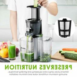 Aicok Slow Masticating Juicer Quiet Motor and Reverse Functi