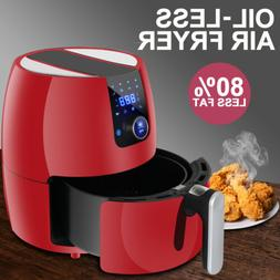 Kitchen Healthy Appliance Deep Air Fryer Touch Screen Temper