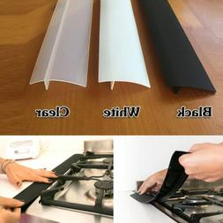 Silicone Stove Counter Gap Cover Oven Guard Spill Seal Slit