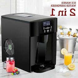 2in1 Electric Ice Maker Compact Countertop Water Dispenser M