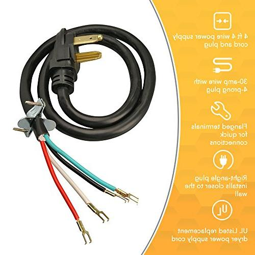 Coleman 4-Wire Power Cord