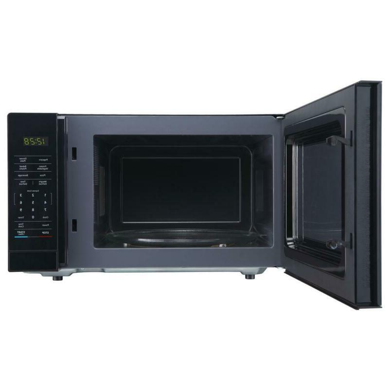 1.1 ft. Countertop Microwave in Black