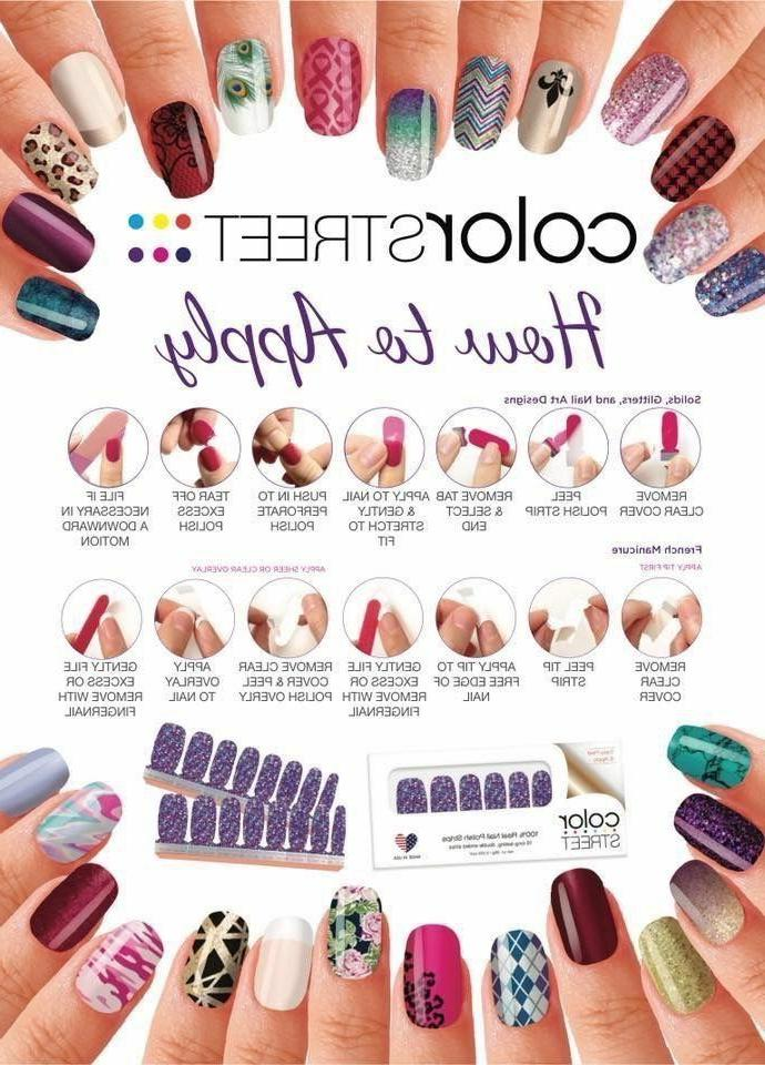 Color Street Polish lasting Strips MORE TO