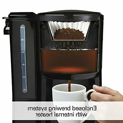 12-Cup Coffee Programmable BrewStation Dispensing Coffee