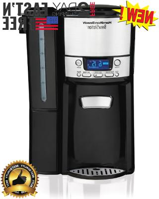 12 cup coffee maker programmable brewstation dispensing
