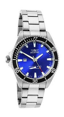 Invicta Men's 15184SYB Pro Diver Blue Dial Stainless Steel W