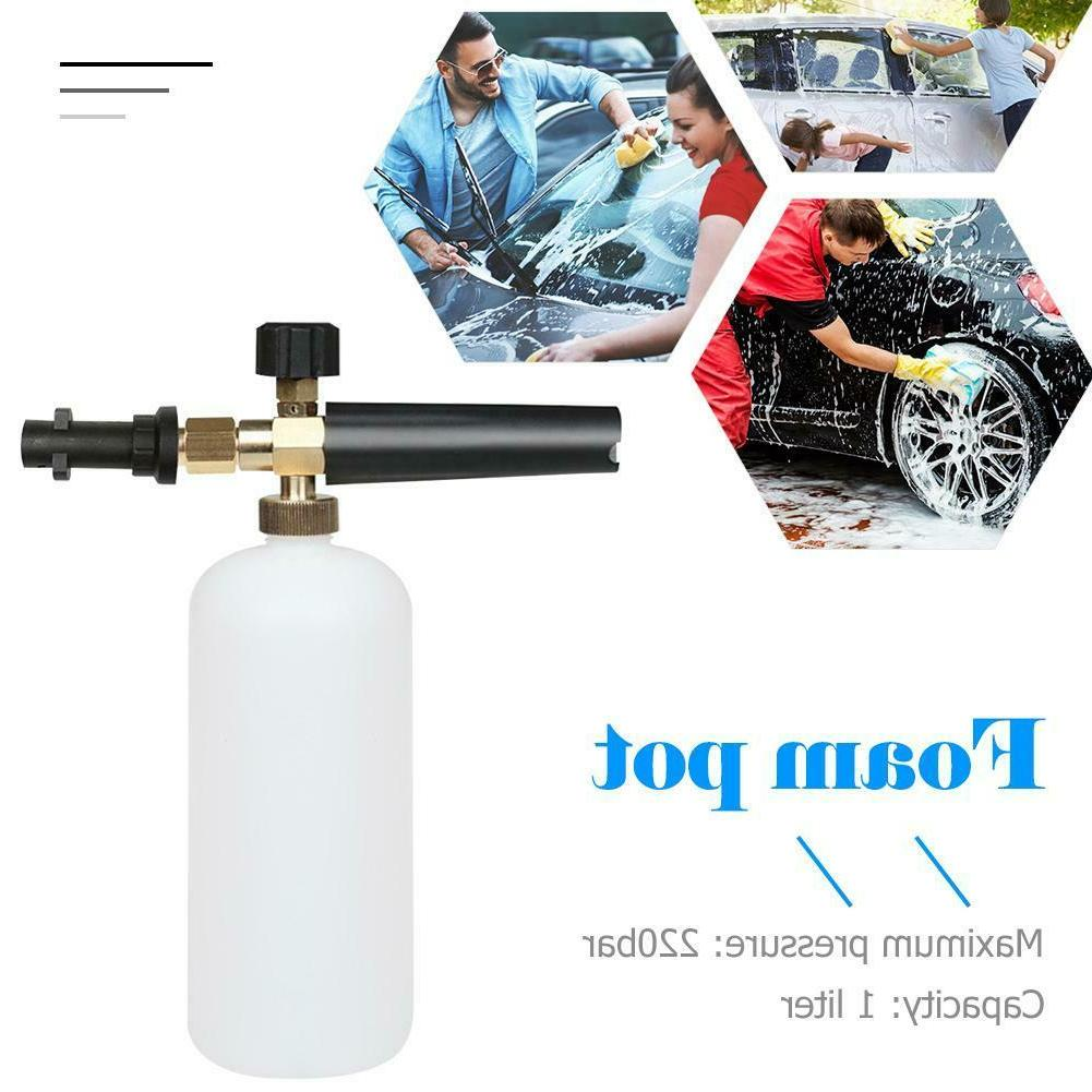 1L High Pressure Car Washer Foam Gun Snow Foam Lance Cannon