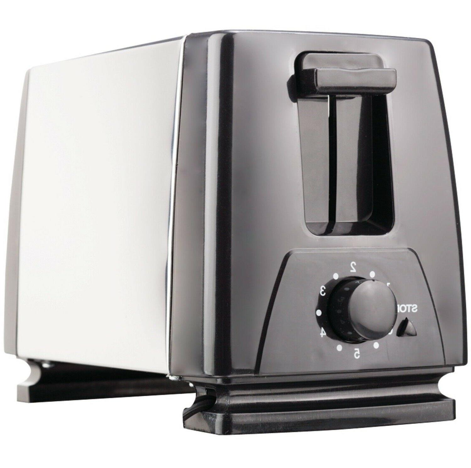 2 slice toaster appliances black cool touch