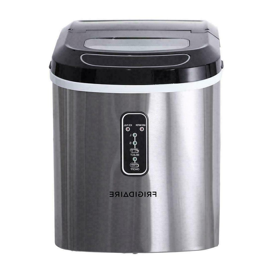 Frigidaire 26-lb. Maker Portable Stainless
