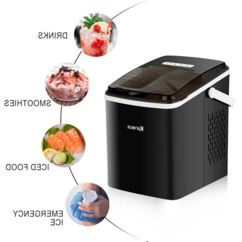 Portable Electric Ice Maker Countertop Igloo Compact Machine