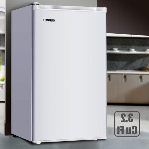 3.2 Cu.ft Mini Fridge Compact Refrigerator Freezer Freestand