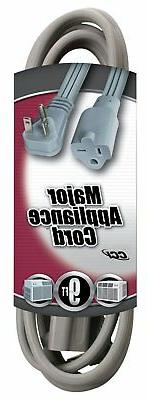 Southwire 03537 12/3 9-Foot Appliance/ Air Conditioning Cord
