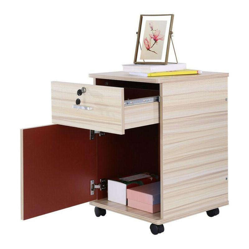 3 Filing Cabinet File Organizer Home Office USA