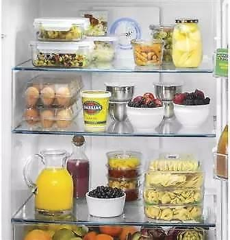 """Haier 33"""" Counter French Door Refrigerator HRQ16N3BGS"""