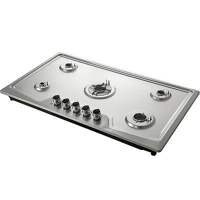 Stove Cooktop Kitchen Clean Gas Cooking