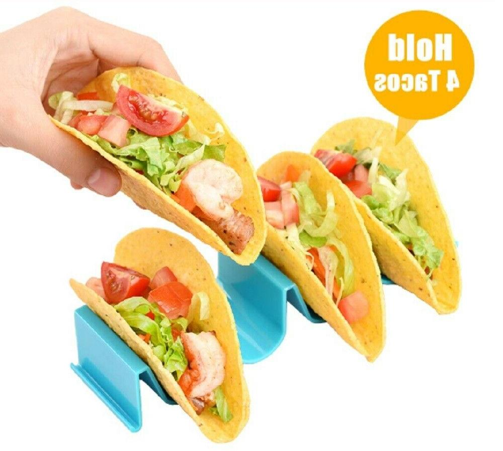 4 Pcs Taco Holder Mexican Shape Hard Kitchen Cooking Tool