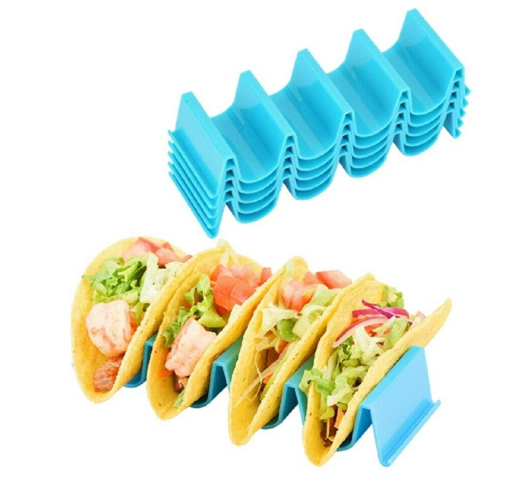 4 pcs taco holder mexican food wave