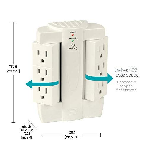 Six-Outlet Swivel