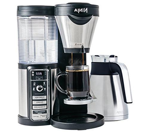 Ninja Coffee Maker for Hot/Iced Coffee with 4 Brew Sizes, Pr