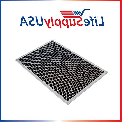 Replacement Range Hood Charcoal Filter fits Whirlpool UXT5236BDS by LifeSupplyUSA