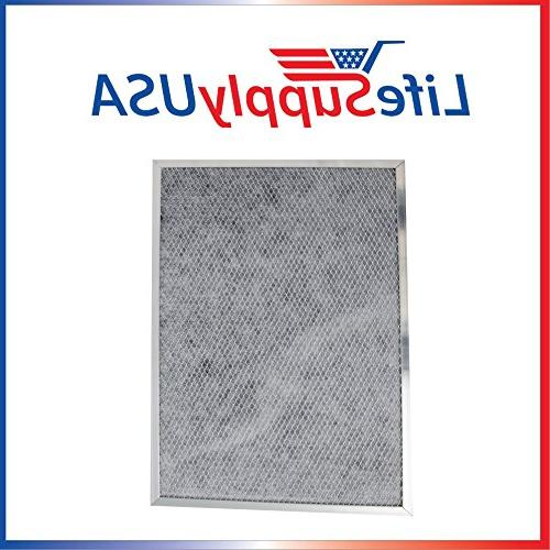 Replacement Range Hood Charcoal Filter fits Whirlpool W10386