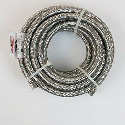 Certified Appliance Accessories Braided Stainless Connector 15ft