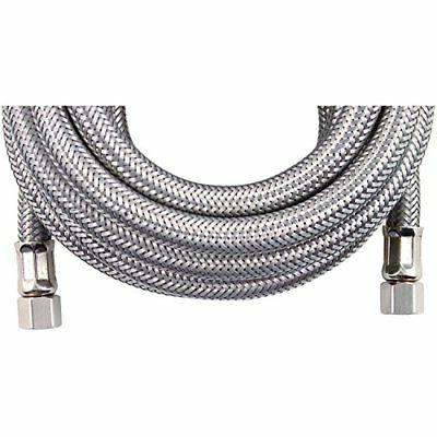 accessories braided stainless steel ice maker connector