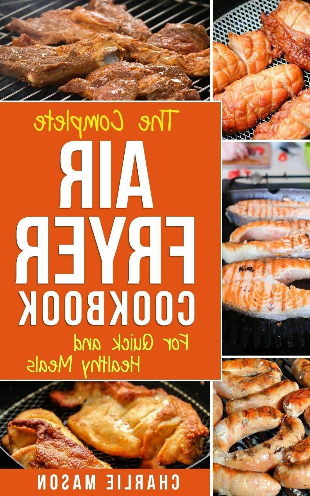 Air fryer cookbook: Air fryer recipe book and Delicious Air