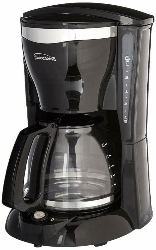 Brentwood Appliances Ts-217 12-Cup Coffee Maker, Standard Bl