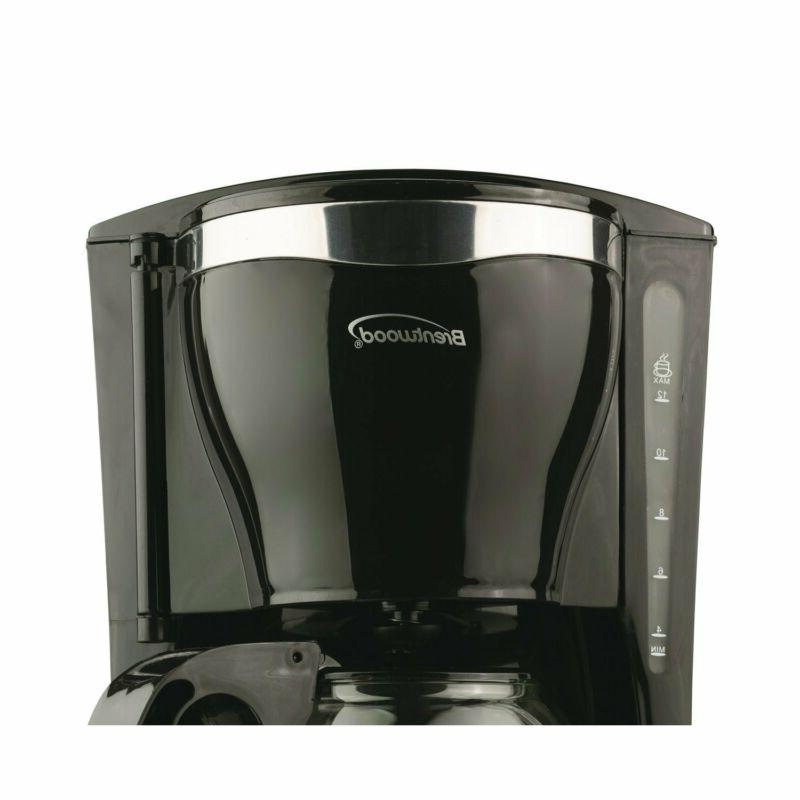 Brentwood Appliances TS-217 12-Cup Coffee Maker, Black