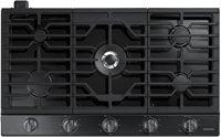 "Samsung 36"" Black Stainless Steel Gas Cooktop"