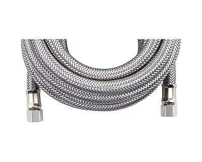 braided stainless steel ice maker connector