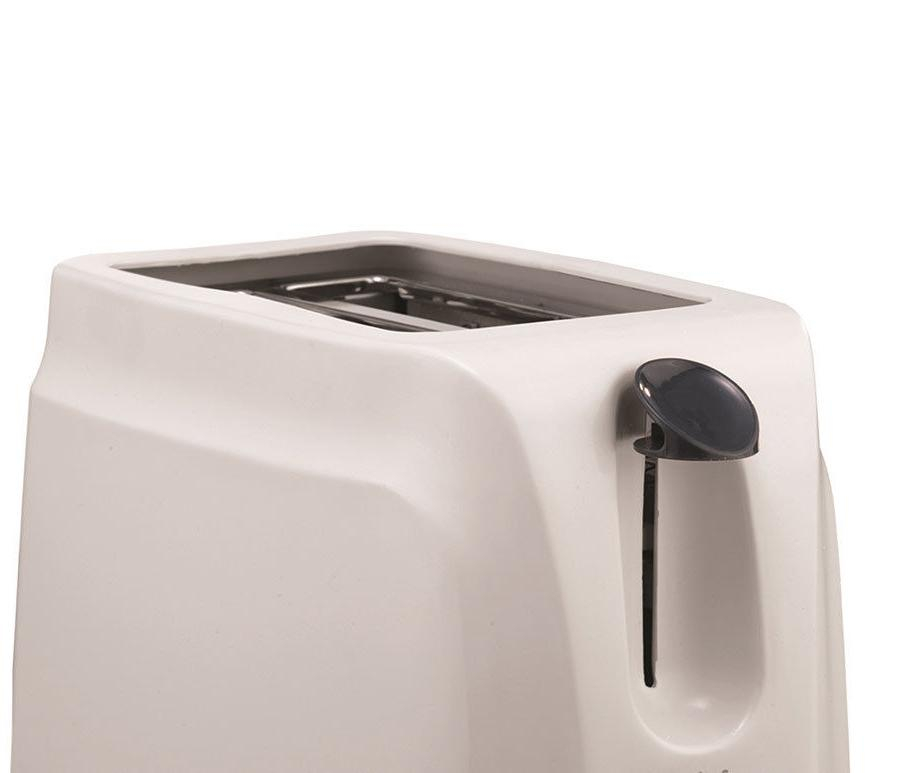 BRAND NEW Appliances TS-260W 2-Slice Cool Toaster, White