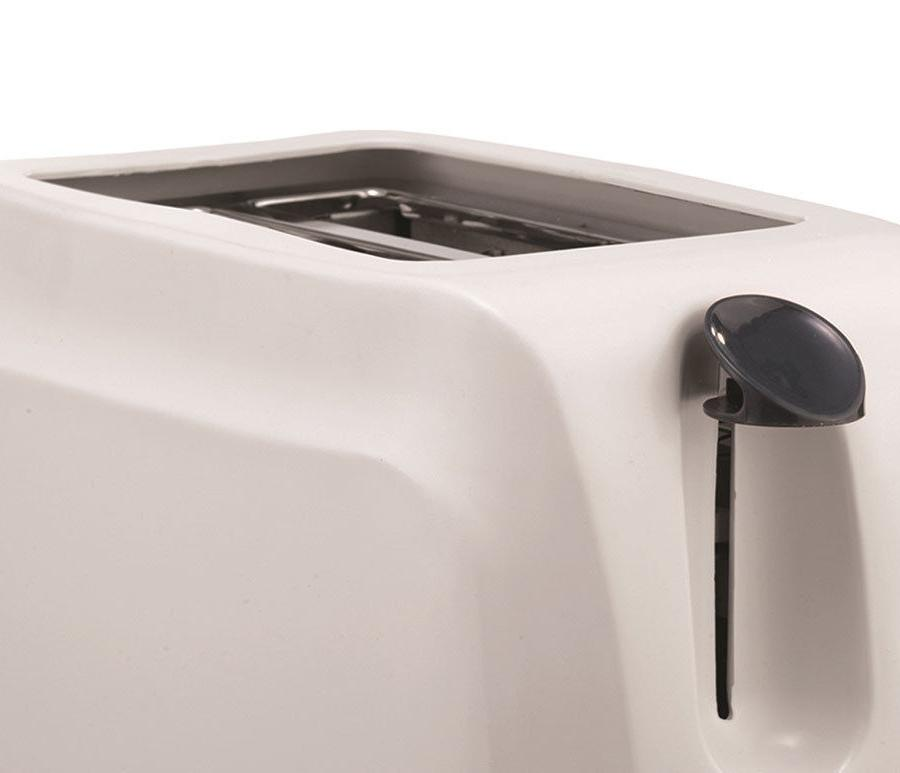 BRAND Brentwood TS-260W 2-Slice Cool Touch Toaster, White