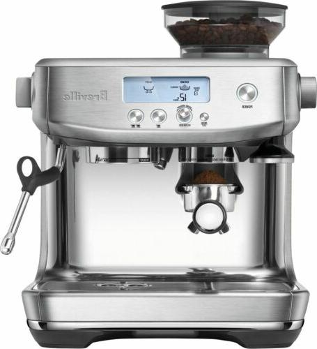 brand new the barista pro brushed stanless