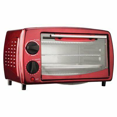 Brentwood TS-345R 4-Slice Toaster Oven