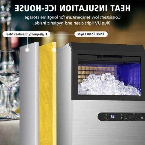 Built-in Ice Maker Machines Commercial Stainless Ice