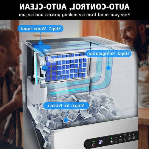 Built-in Ice Commercial Stainless Restaurant Ice