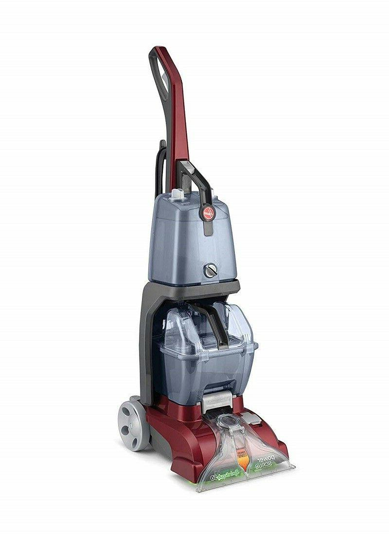 Hoover Carpet Cleaner Scrub Deluxe Cleaning Washer New