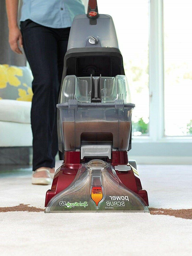 Hoover Carpet Scrub Cleaning