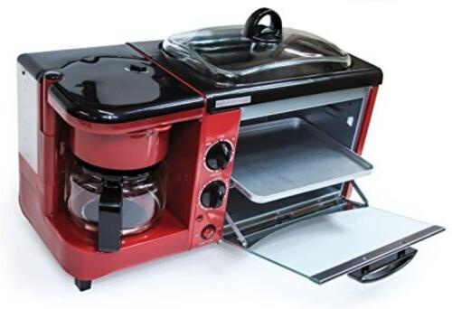 Courant CBH4601 Multifunction Breakfast Hub - Red