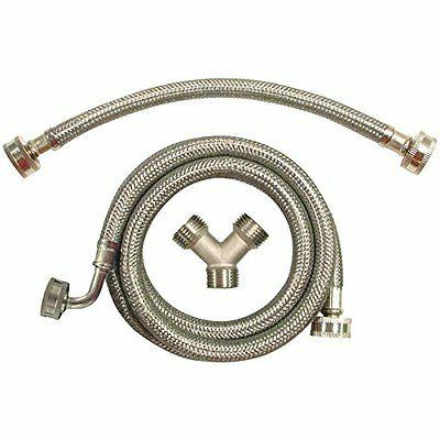 certified appliance stmkit2 braided stainless steel steam