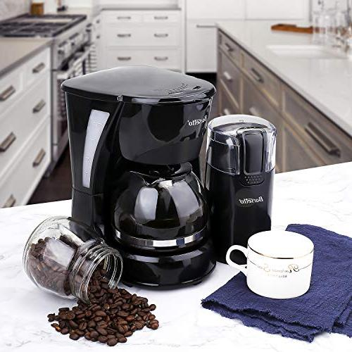 Coffee Barsetto Cup Coffee Silent Coffeemaker with Filter Home