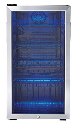 """Danby 18"""" Beverage Center with 3.3 Cu. Ft. Capacity 120 Capacity Mechanical"""