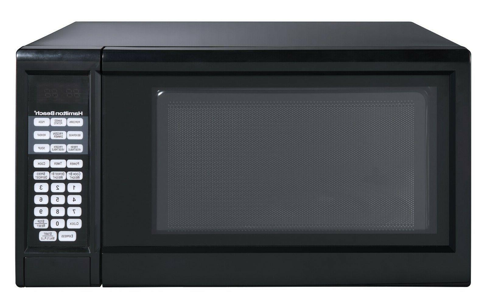 1.3 Cu Ft Digital Microwave Oven Counter Top Appliance Black